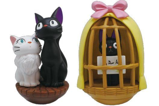 "Ensky YR-03 Jiji & Lily Tilting Figure""Kiki's Delivery Service"" Box of 6, Ensky"