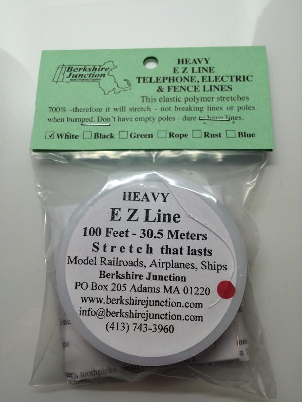 EZ Line Heavy White Model Railroads/Airplanes, 100 Feet