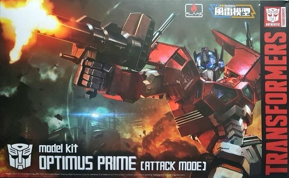 "Flame Toys Furai Model Optimus Prime (Attack Mode) ""Transformers"""