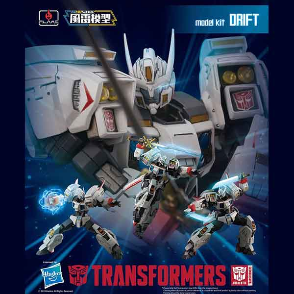 "Flame Toys Drift ""Transformers"", Flame Toys Furai Model"