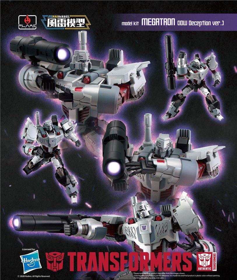 "Flame Toys Megatron IDW (Decepticon Ver) ""Transformers"" Furai Model"