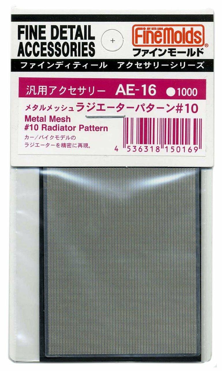 FineMolds Metal Mesh #10 Radiator Pattern