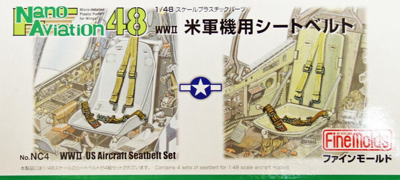 FineMolds 1/48 US  Aircraft Seatbelt Set