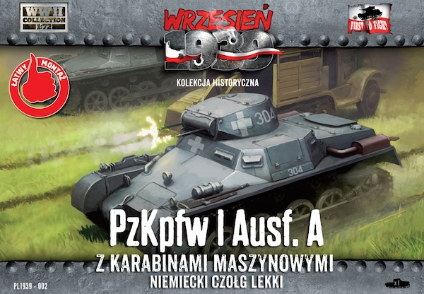 First to Fight Pz.Kpfw.I Ausf.A (simplified kit)
