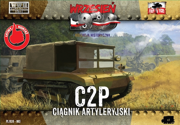 First to Fight C2P Polish artillery tractor