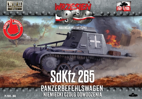 First to Fight German Sd.Kfz.265 Panzerbefehlswagen German command tank