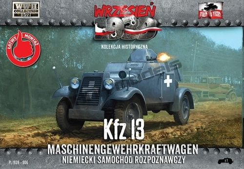 First to Fight Kfz.13 Maschinengewehrkraftwagen (simplified kit)
