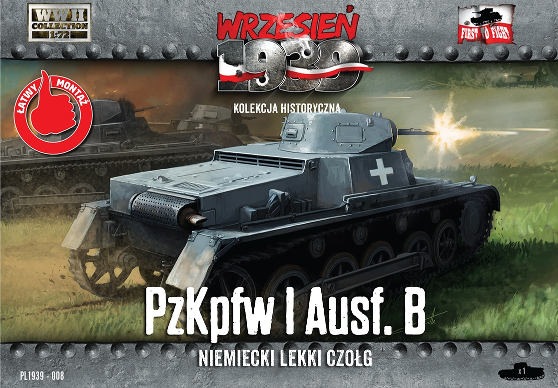 First to Fight Pz.Kpfw.I Ausf.B - German light tank
