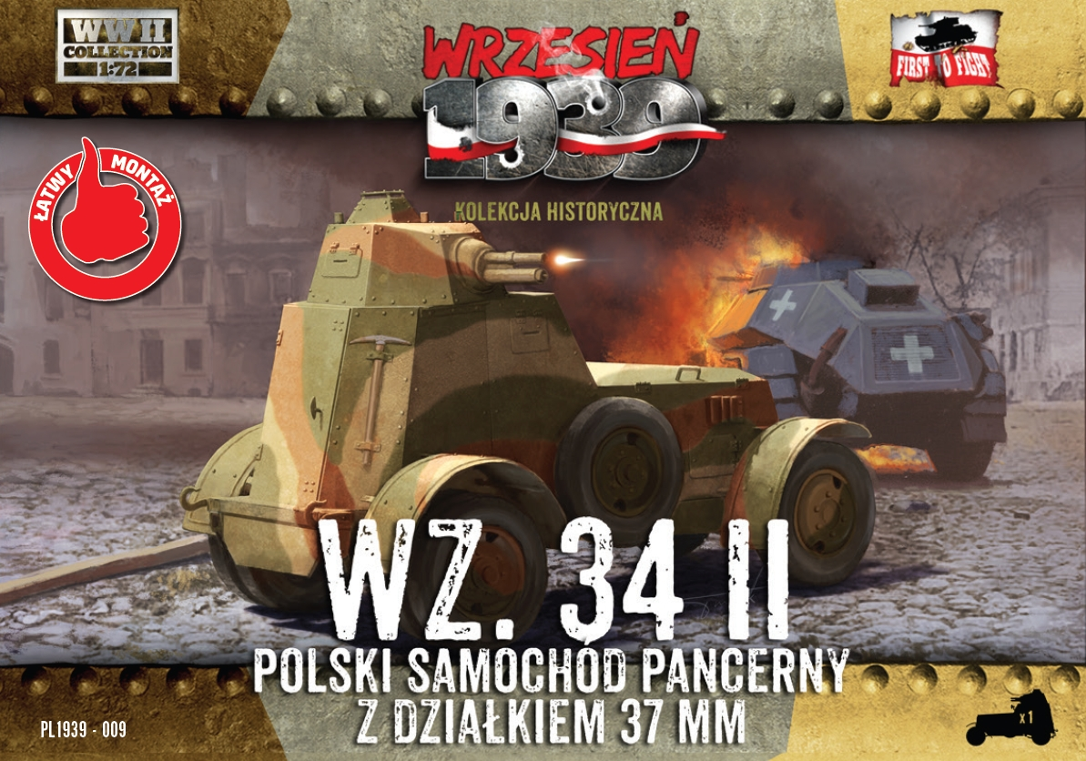 First to Fight Wz.34/II Polish Armored Car