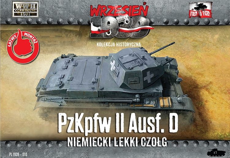 First to Fight Pz.Kpfw.II Ausf.D - German light tank