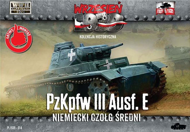 First to Fight Pz.Kpfw.III Ausf.E