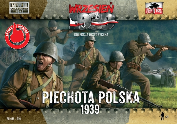 First to Fight Polish Infantry (figure set)(WWII)