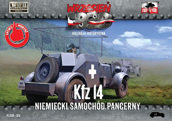 First to Fight Kfz.14 German armored radio car