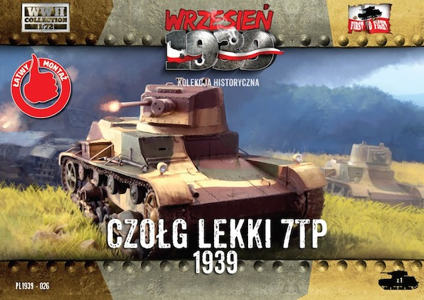 First to Fight Polish 7TP Single Turret Polish Light Tank