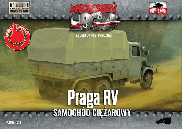 First to Fight Praga RV lorry/truck 1939