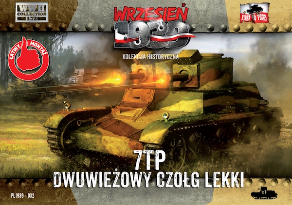 First to Fight Polish 7TP double turret Polish light tank
