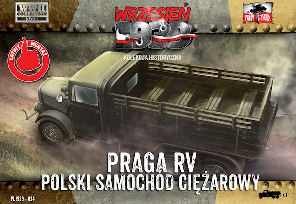 First to Fight Praga RV lorry/truck in Polish service