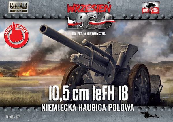 First to Fight 10,5cm leFH 18 German Field Howitzer