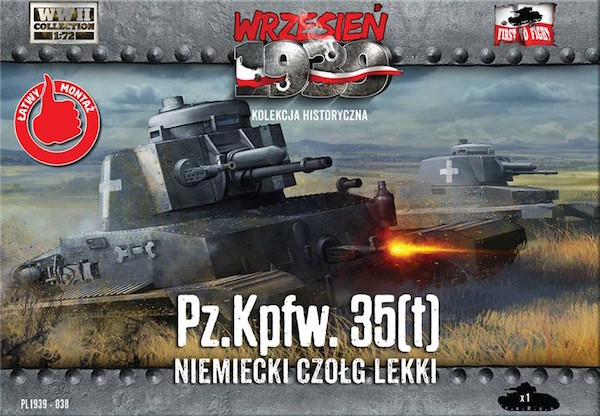 First to Fight Pz.Kpfw. 35(t) German Light Tank