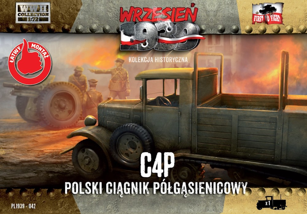 First to Fight C4P Polish Halftrack Artillery Tractor