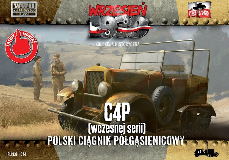First to Fight C4P Polish Artillery Tractor, Early production