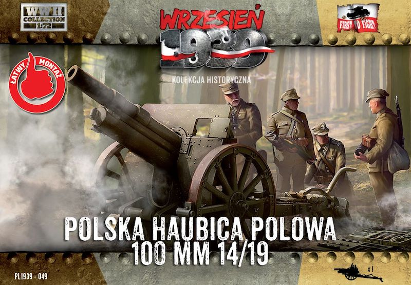 First to Fight Skoda 100mm 14/19 Polish Howitzer