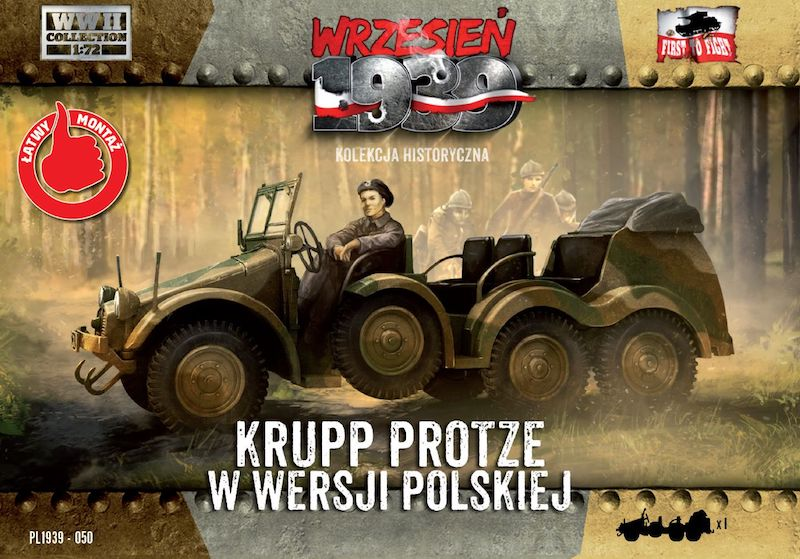 First to Fight Krupp-Protze - Polish Army version