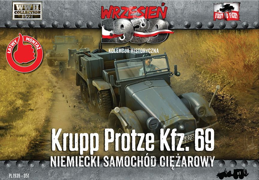 First to Fight Krupp-Protze Kfz.69