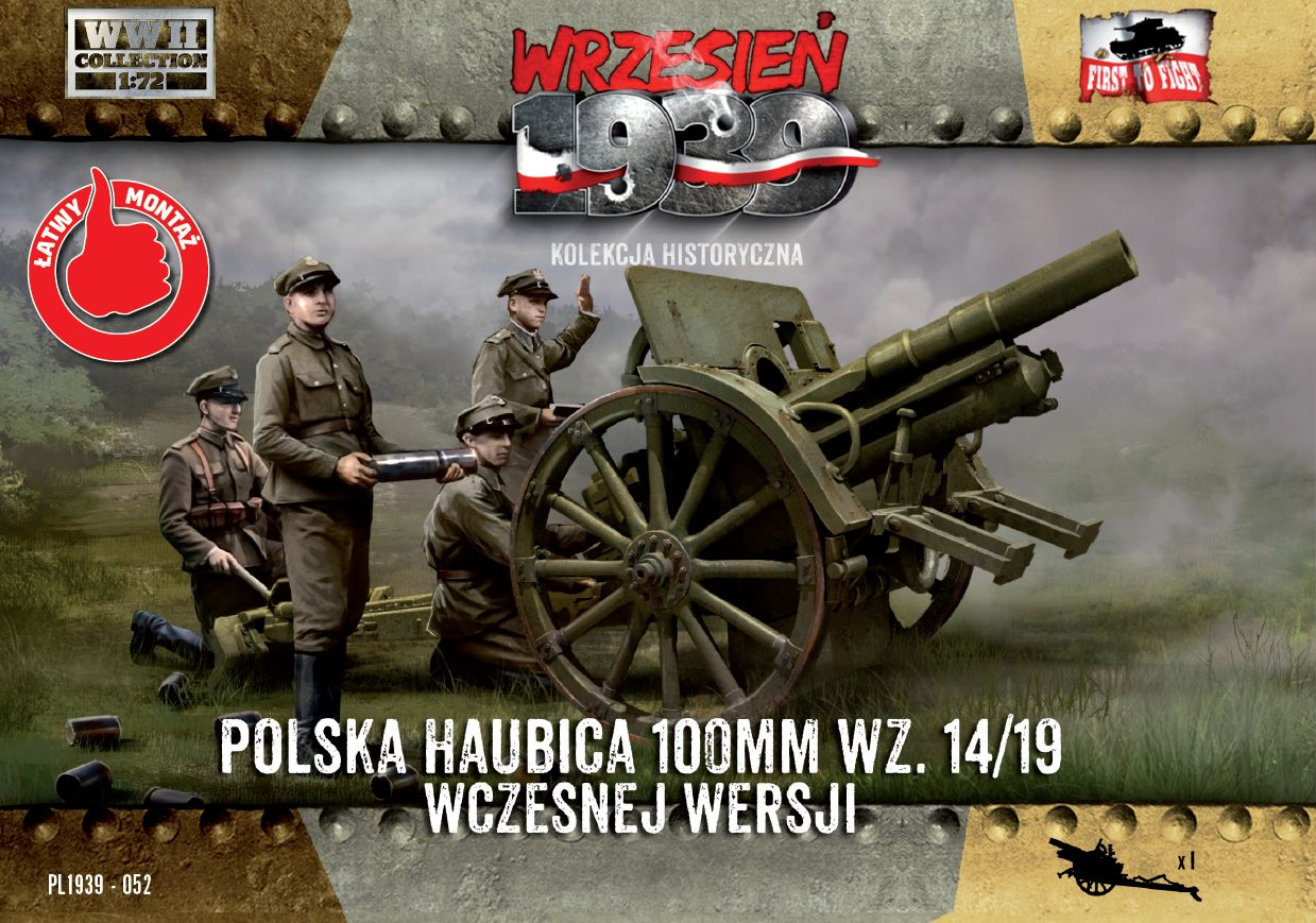 First to Fight 100mm Polish wz. 14/19 Howitzer, Early Version