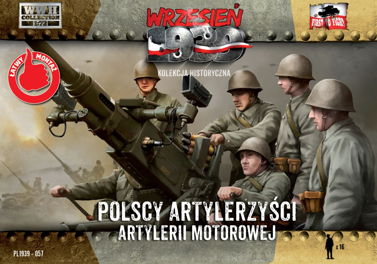 First to Fight Polish Anti-Aircraft Gun Crew