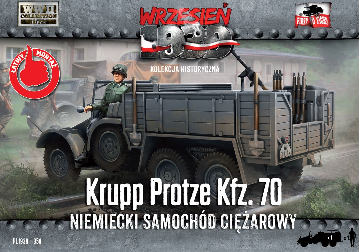 First to Fight Krupp-Protze Kfz.70