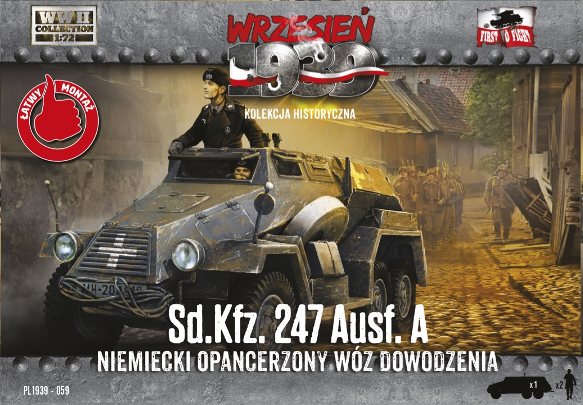 First to Fight Sd.Kfz.247 Ausf.A
