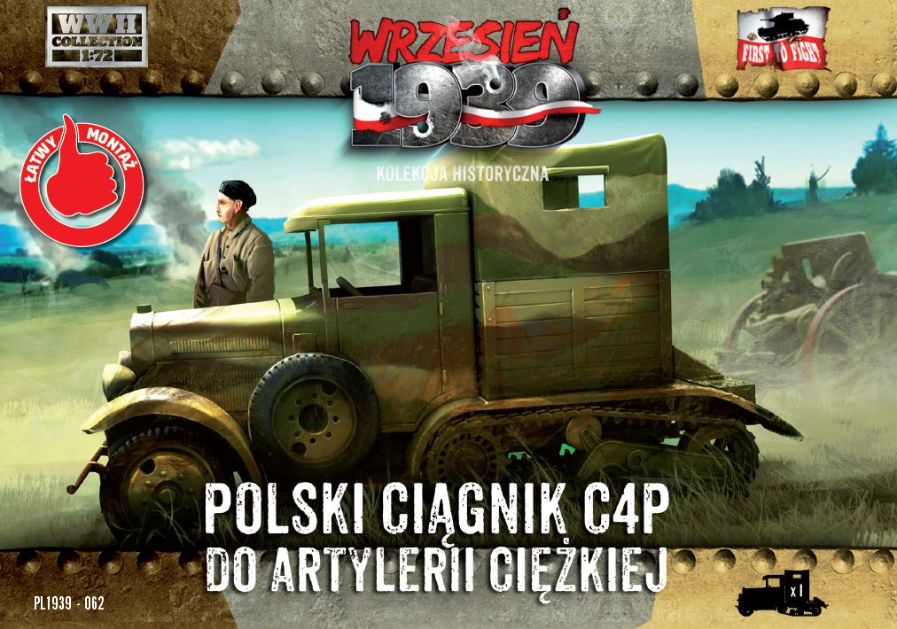 First to Fight C4P Polish Heavy Artillery Tractor