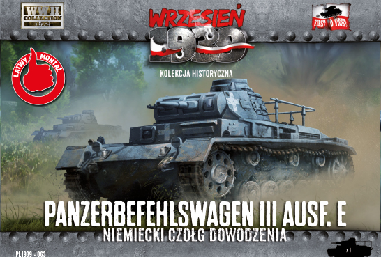 First to Fight Panzerbefehlswagen III Ausf.E Command Tank