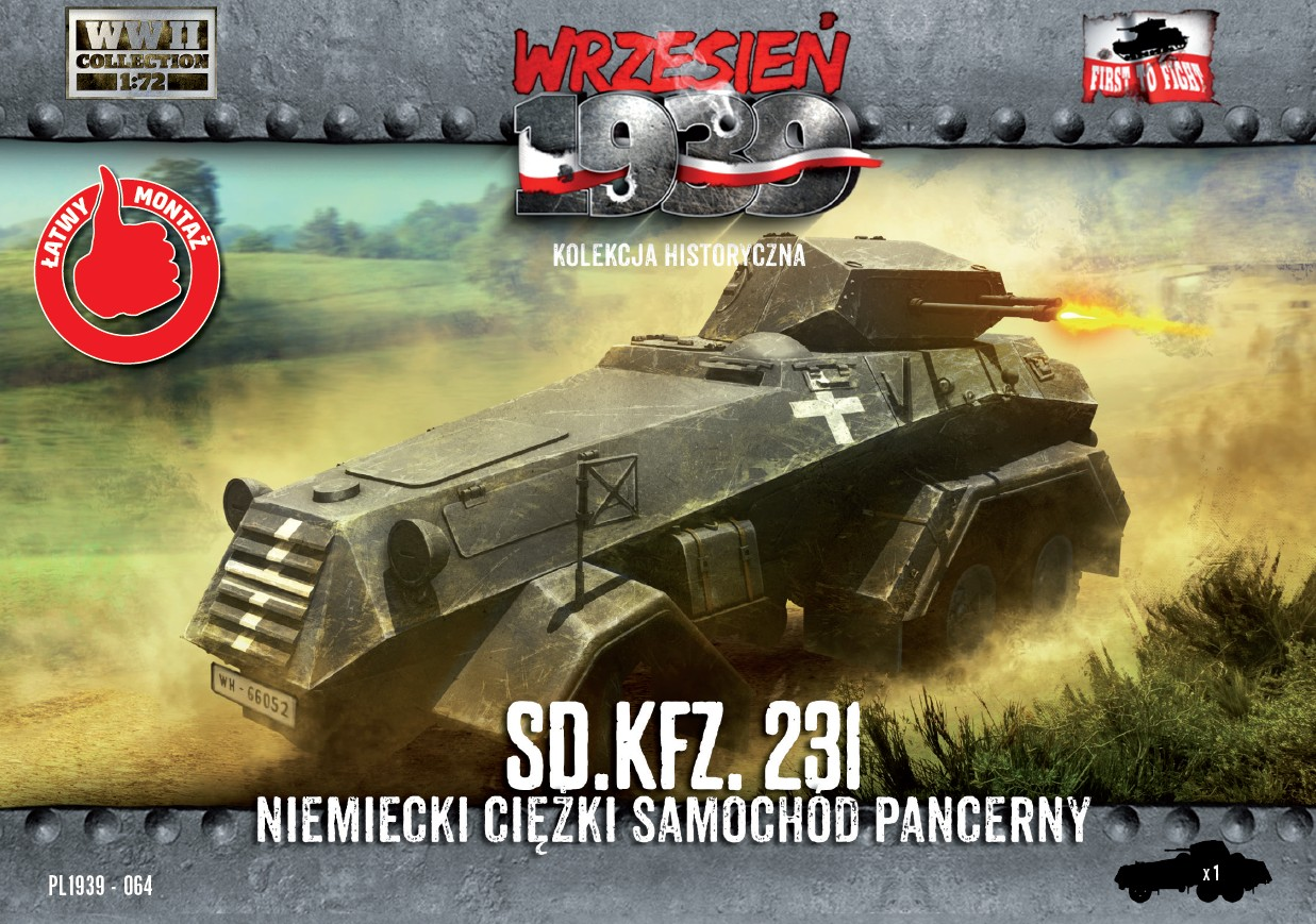 First to Fight German Sd.Kfz.231 Heavy Armored Car