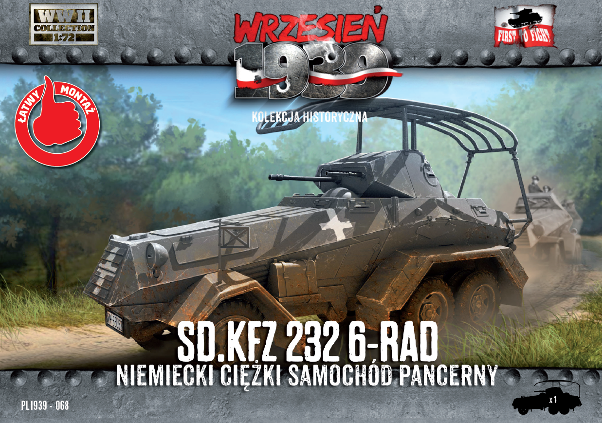 First to Fight Sd.Kfz.232 6-Rad - German Heavy Armoured Car