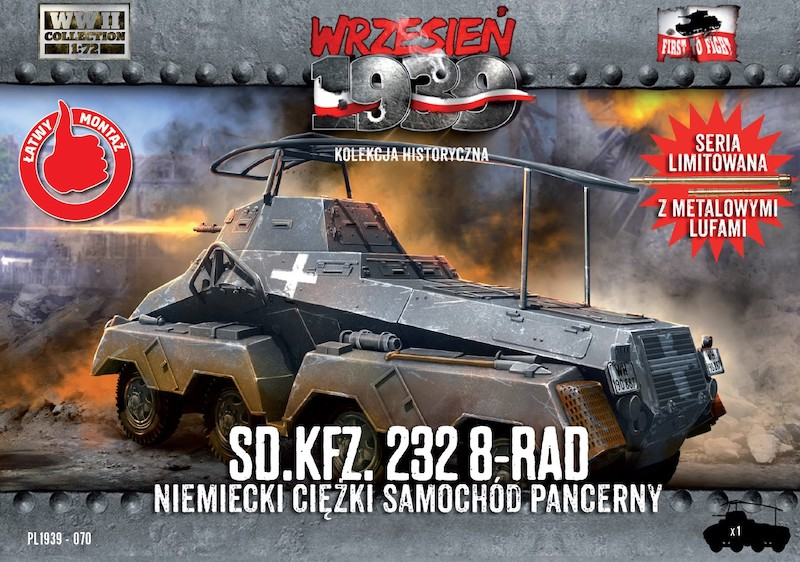 First to Fight Sd.Kfz.232 8-Rad German Heavy Armoured Car