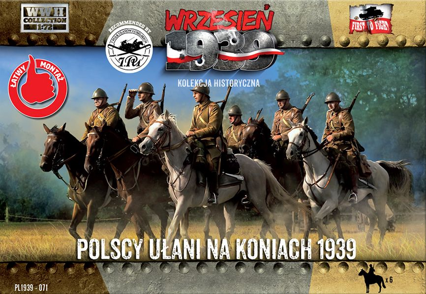 First to Fight Polish Uhlans on horseback 1939