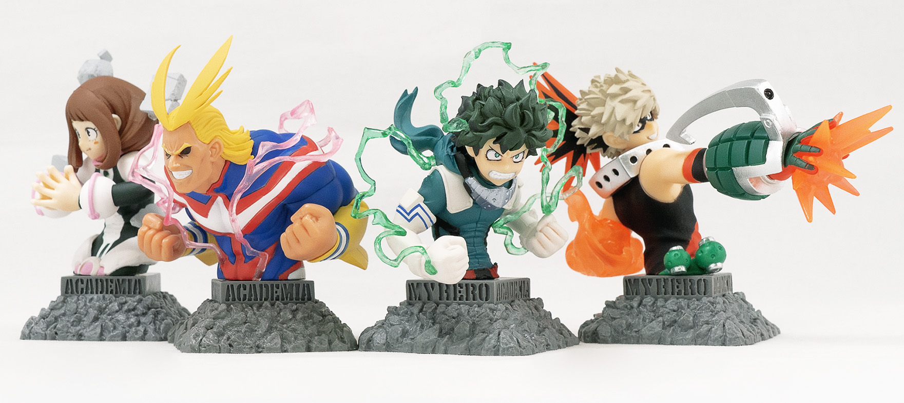 F-Toys My Hero Academia Bust Up Heroes