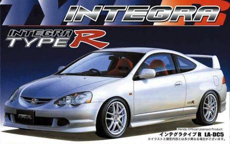 Fujimi Honda new Integra type R '01