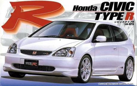 Fujimi 1/24 Honda new Civic type R EP3