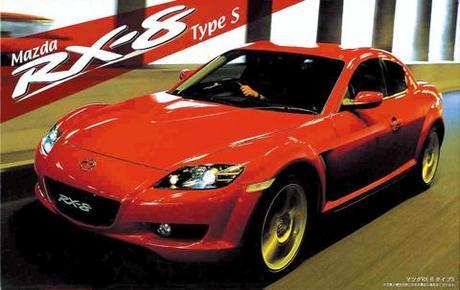 Fujimi Mazda RX-8