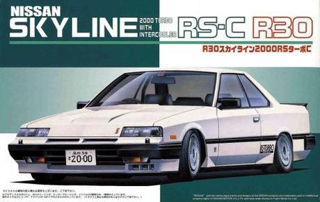 Fujimi Nissan R30 Skyline 2000 RS-C Tourbo