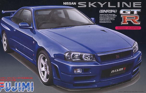 Fujimi 1/24 Nissan Skyline GT-R Nismo BNR34
