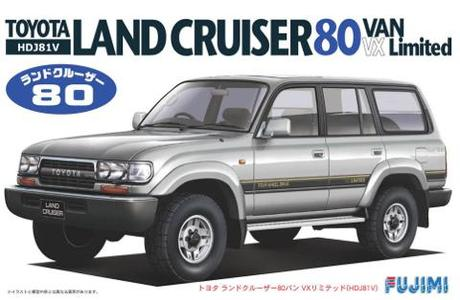 Fujimi Toyota Landcruiser