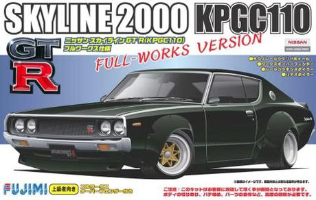 Fujimi Nissan Skyline GT-R Full-Works Over Fender Race