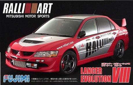 Fujimi Mitsubishi Lancer Evolution VIII RALLIART