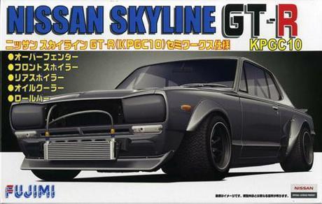 Fujimi Nissan KPGC10 Skyline GT-R Semi- WORKS