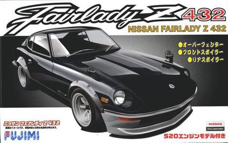 Fujimi 1/24 Nissan Z432R Over Fender