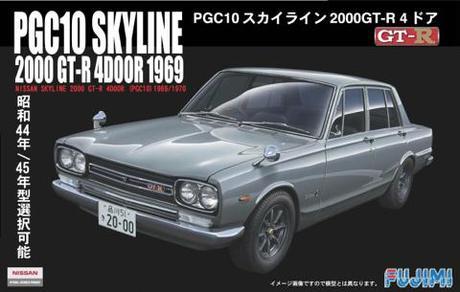 Fujimi Nissan PGC-10 GT-R '69